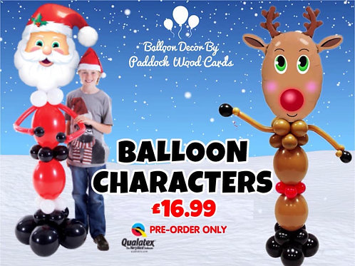 Tall Balloon Character