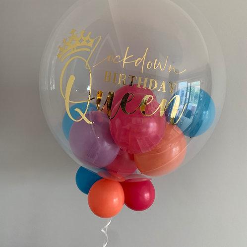 """Lockdown Birthday - Bubble """"Gumball"""" Balloon"""