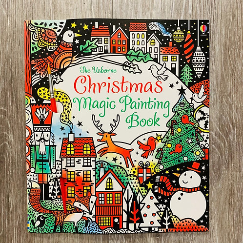 Magic Christmas Painting Book (just add water)