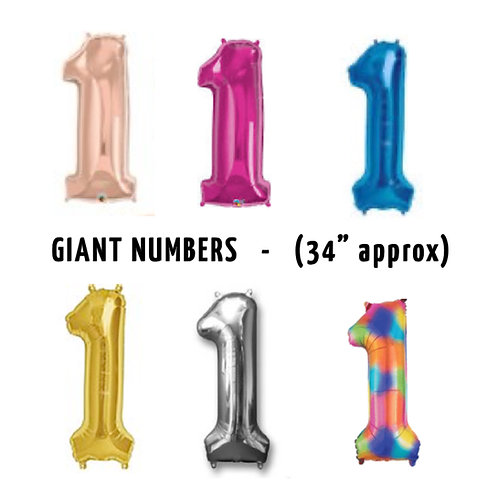 Number 1 Giant Balloon