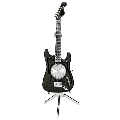 Guitar Desktop Clock (15cm)