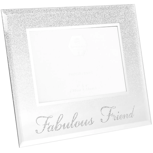 Friend glittery frame