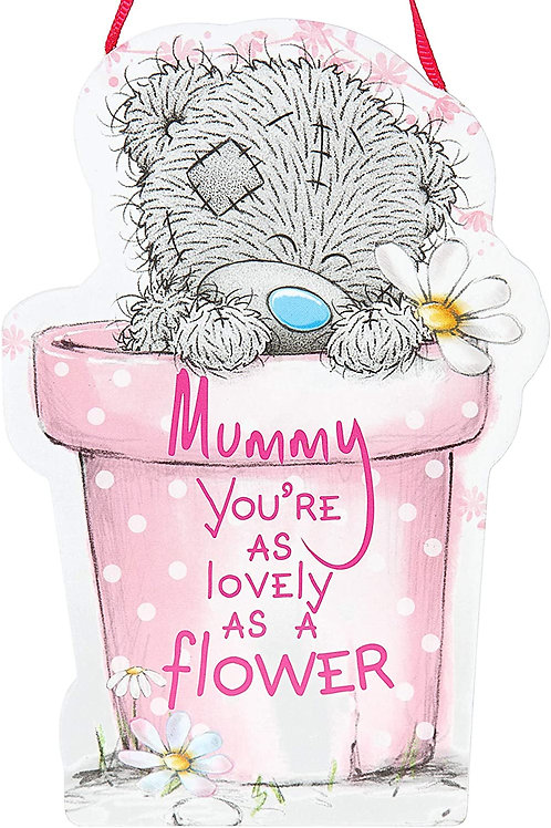 Me to you mummy hanging sign
