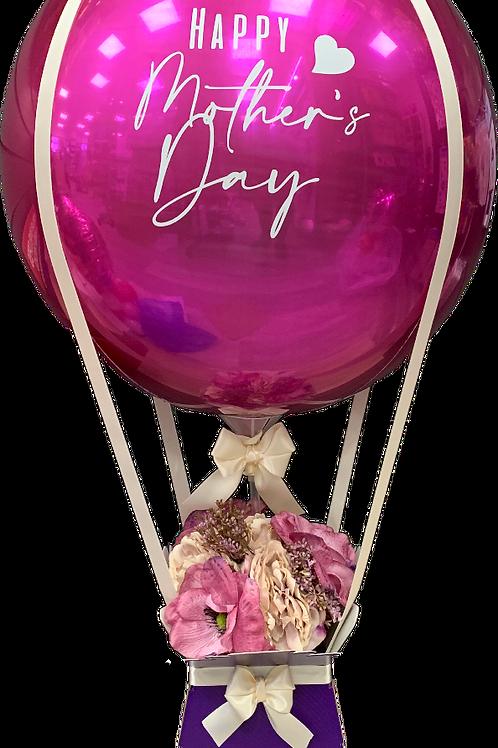 Hot Air Balloon - Purple Theme
