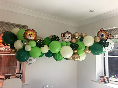 Themed Balloons Garland