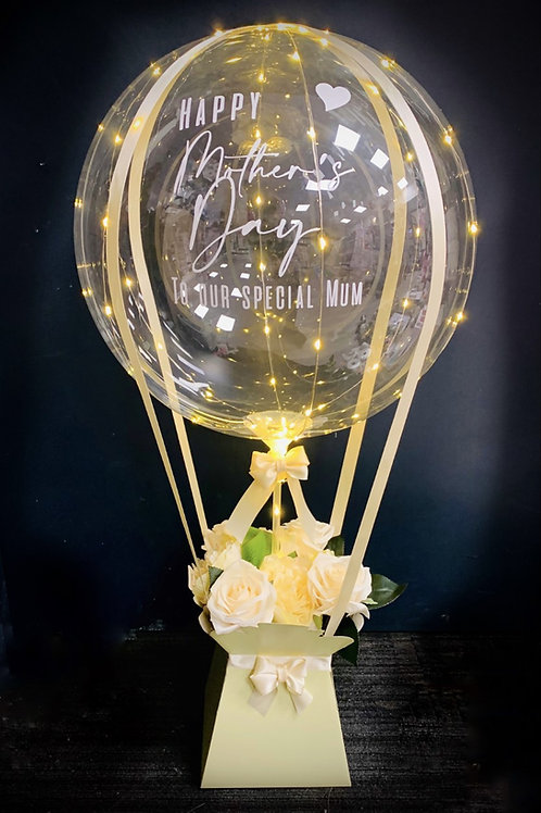 Hot Air Balloon - With LED Lights
