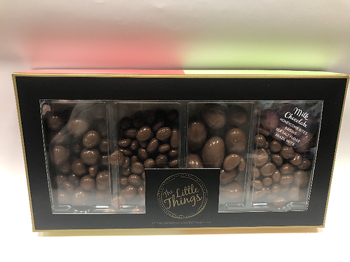 Milk chocolate assorted flavour nibbles