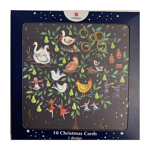 Box Christmas Cards - 10 cards