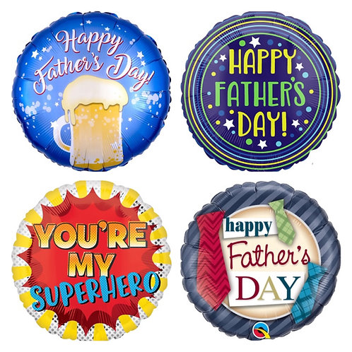 Various Happy Father's Day regular foils