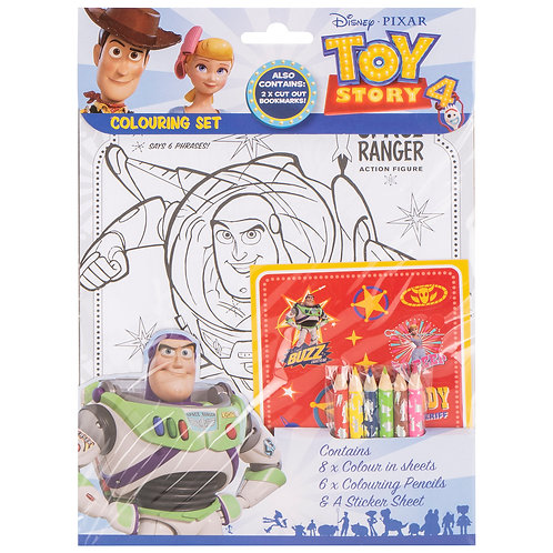 Toy story coloring pack