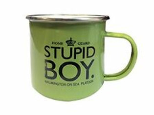 Mug -Dads Army Metal Stupid Boy