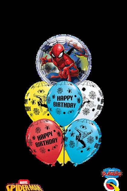 SPIDERMAN 7 Balloon Bouquet