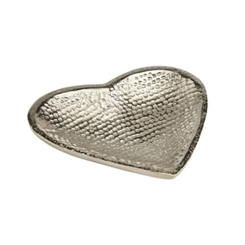 Metal heart dish