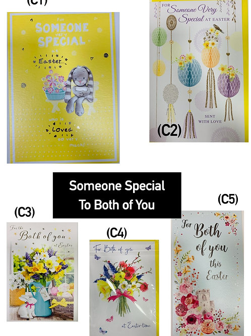 Easter Cards - Singles (Someone Special/to Both)