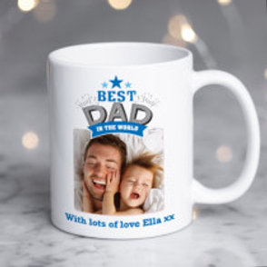 Personalised Mug - add photo & message