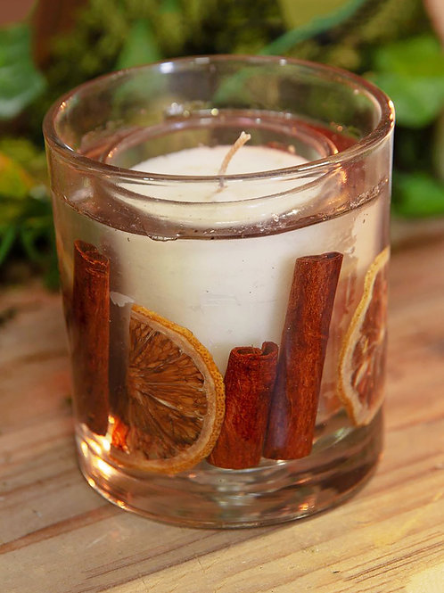 Spiced orange candle