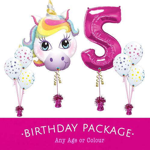 Children's Balloon Package