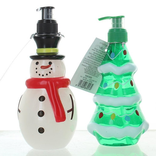 Christmas soap dispensers (soap included)