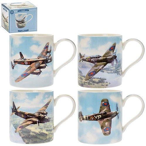 Mugs Ceramic - War planes