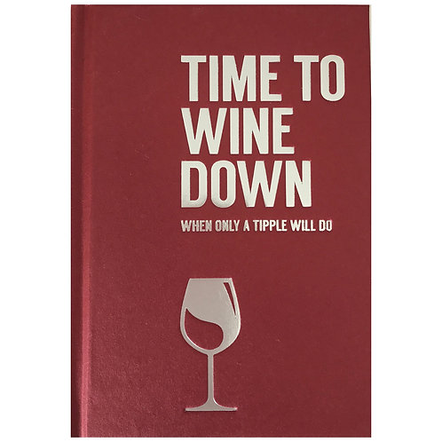 Time to wine down book