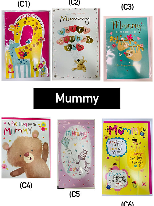 Mother's Day Cards - MUMMY