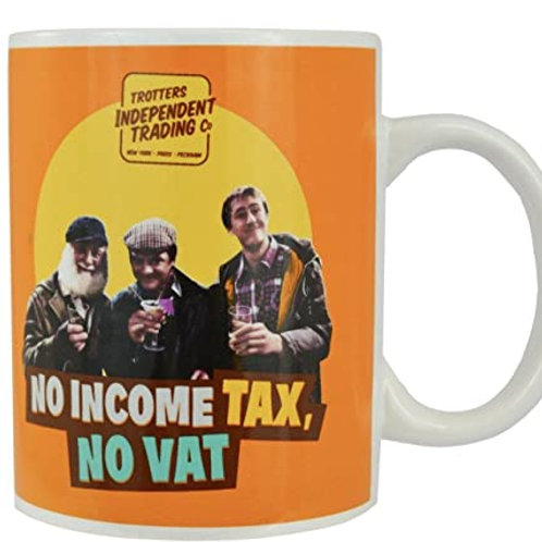 Mug Ceramic - Only Fools, No income tax, No VAT