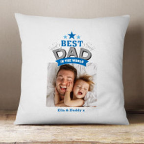 Personalised Cushion - add photo & message
