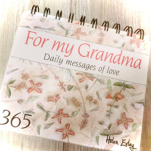 BOOK - 365 daily quotes for grandma