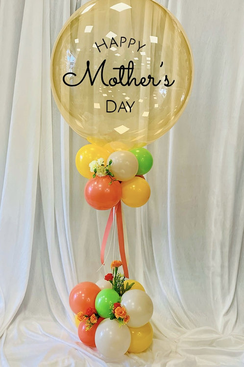 Mother's Day Balloon - Table Top - Vibrant (Can be personalised)