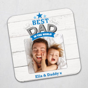 Personalised Coaster - add photo & message