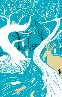 Illustration for Liberal Mgazine