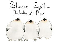 SHARON SPITZ-ILLUSTRATION & DESIGN-LOGO