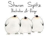 SHARON SPITZ-ILLUSTRATION & DESIGN-LOGO