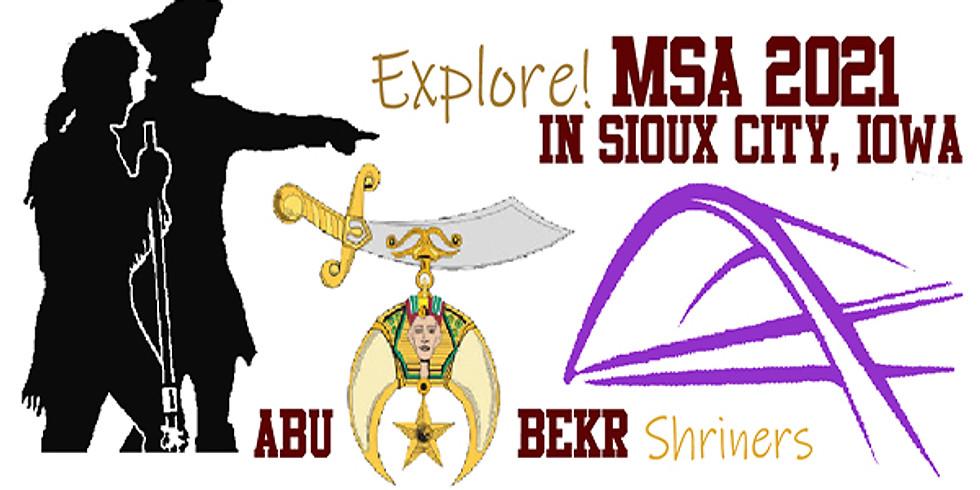 MSA 2021 - Sioux City Iowa!