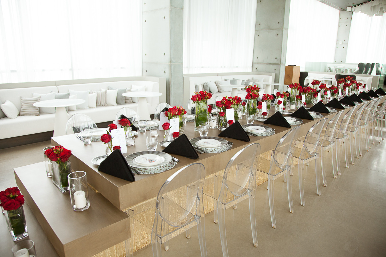 Product Launch Table Styling