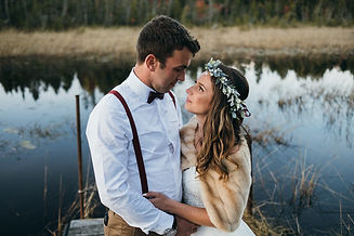 Bancroft+Hunting+Camp+Wedding+Photograph
