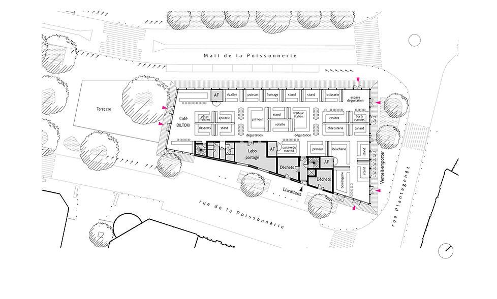 Scheubel Genty Architectes Angers Halles Gourmandes Concours