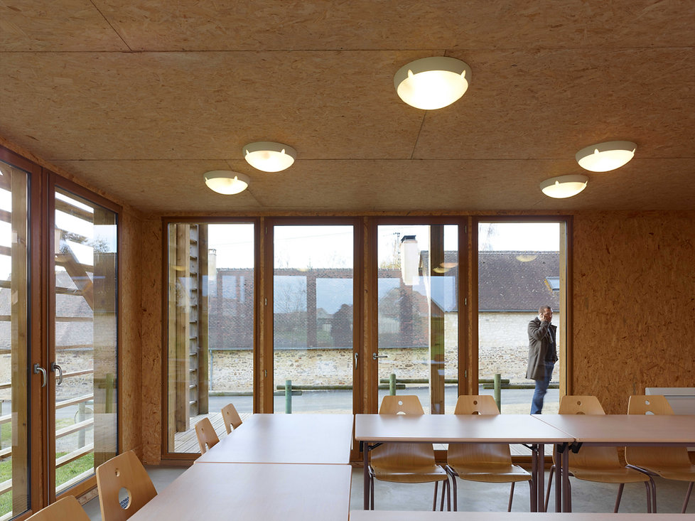 Scheubel Genty Architectes Angers Construction bois bioclimatique biosourcés Bas carbone