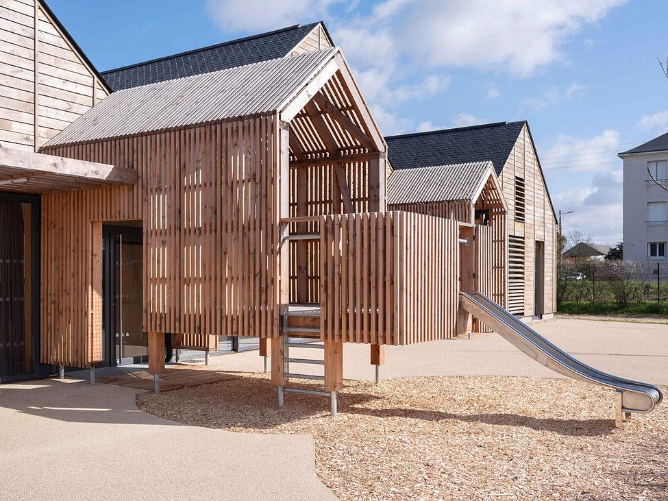 Scheubel Genty Architectes Construction bois biosourcés bioclimatique bas carbone