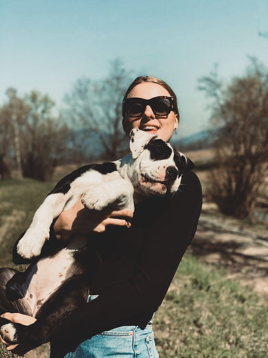 Continental Bulldogge Maze mit Gründerin Valentina