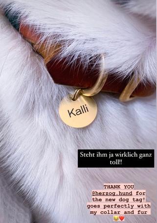 "SAY MY NAME ""Kalli"""