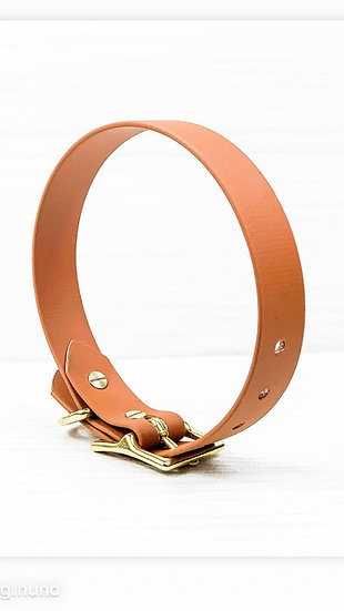 MUDLIEBE - Halsband PLAIN - Karamell