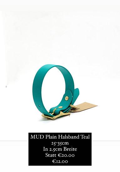 MUD Plain Halsband 25-35cm