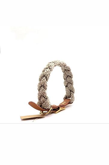 Flechthalsband 47cm - 55cm