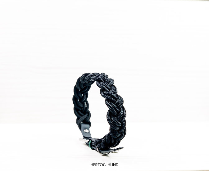 Braided collar - earth tones