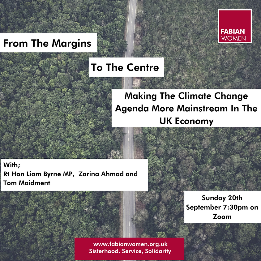 From The Margins to the Centre: Making The Climate Change Agenda More Mainstream In The UK Economy