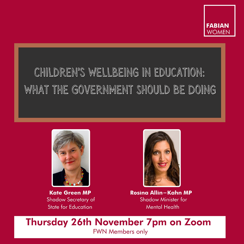 Let Kate Green MP and Rosena Allin-Khan MP hear your views