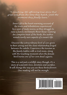 Swan Life book back cover