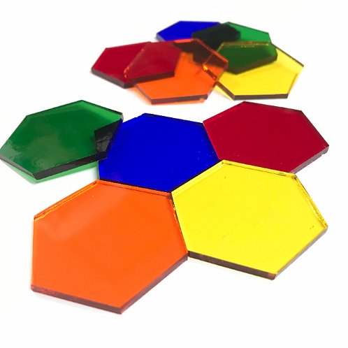 Fusible Hexagons System 96 © (5 Color Choices)