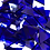 Thumbnail: Fusible Dark Blue System 96 © Triangles
